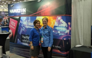 Toni and Abby at APCO